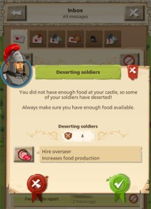 Empire Four Kingdoms - Deserting Soldiers