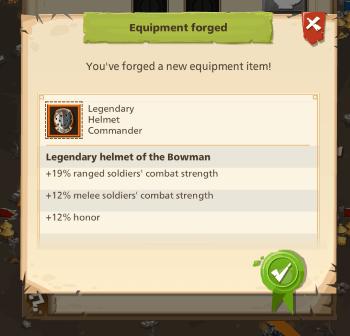 Empire: Four Kingdoms - Legendary Forge
