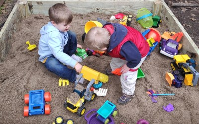 How to build a DIY Sandbox