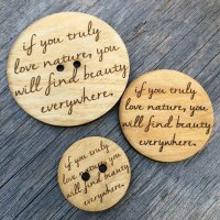Poetry Button – Nature