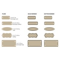 Wood Product Tags (24 per lot)
