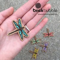 Dragonfly Button Set