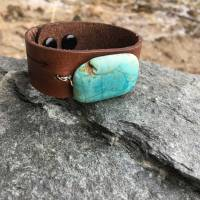 Chunky Turquoise Cuff