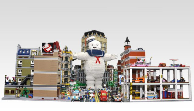 Ghostbusters in the City Lego