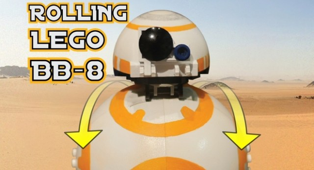 Lego Rolling BB-8