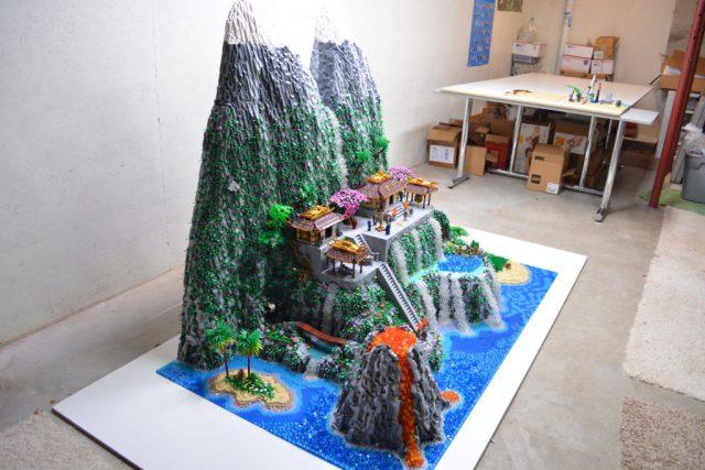 Lego Samurai Code Scale