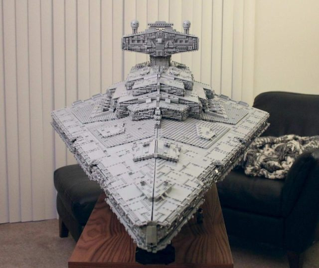 Imperial Star Destroyer Front