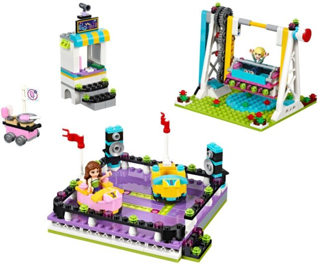 Lego Amusement Park Bumper Cars 41133