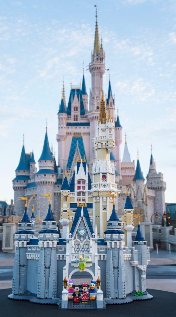 Lego Disney Cinderella Castle Outside