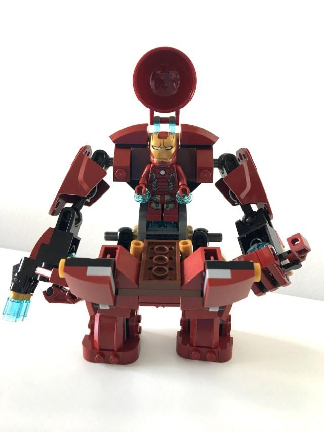 Lego Hulk Buster Open