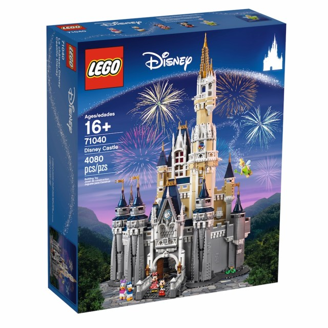 Disney Cinderella Castle Box