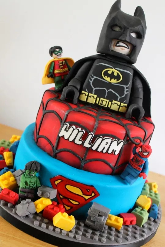 Lego Birthday Cakes - Batman