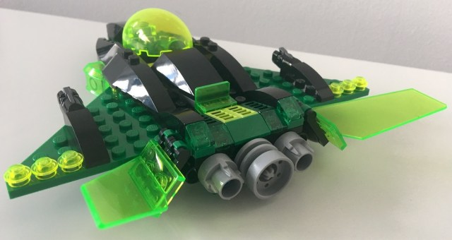 Lego Green Lantern Ship Back