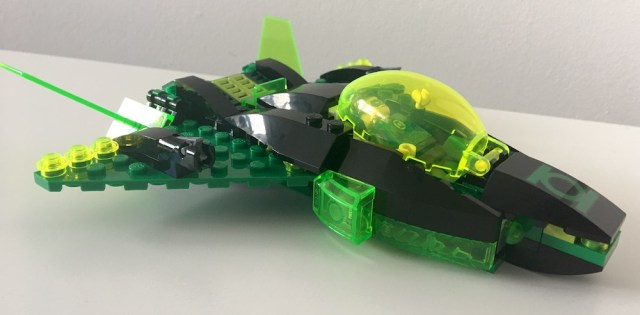Lego Green Lantern Ship Right