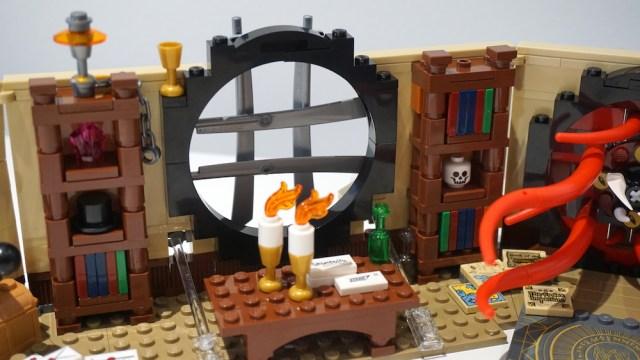 Lego Doctor Strange's Sanctum Sanctorum Window