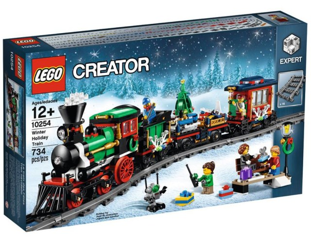 Lego Winter Holiday Train Box