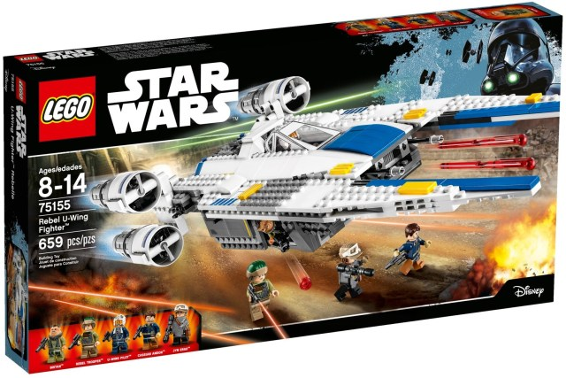 Lego Rebel U-Wing Fighter 75155