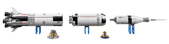 Lego Saturn V Long