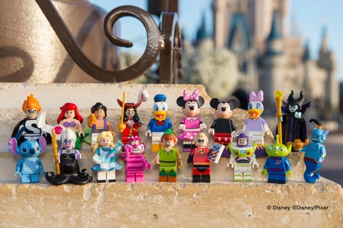 Lego Disney Minifigures