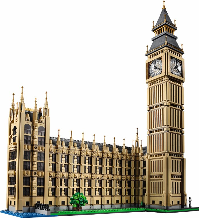 Lego Big Ben Front