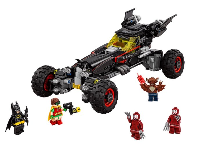 Lego Batman Movie Batmobile