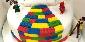 Lego Birthday Cakes - Bricks