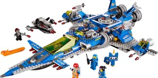 Lego Benny Spaceship All