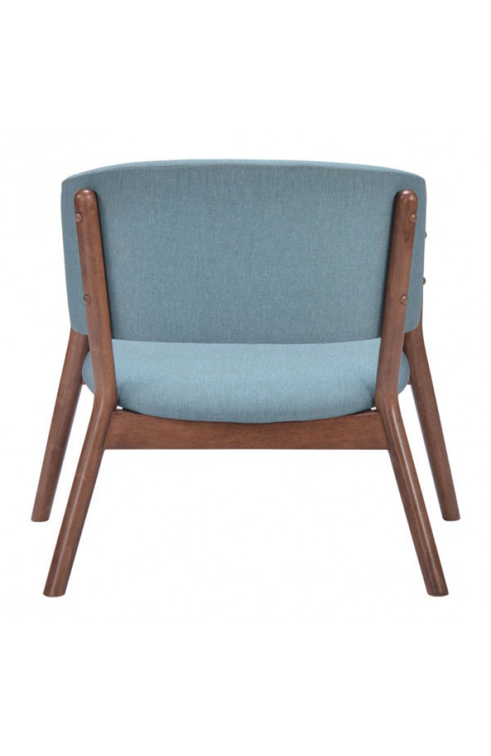 Chair Accent Blue And Red