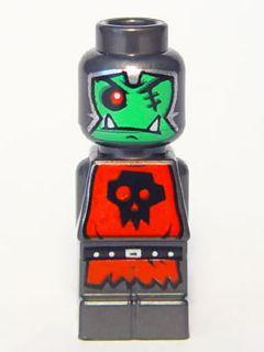 Bricker LEGO Minifigure 85863pb068 Microfig Heroica