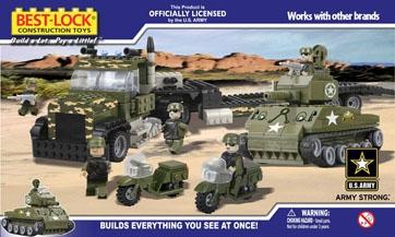 Bricker Construction Toy By BEST LOCK 50063 Truck