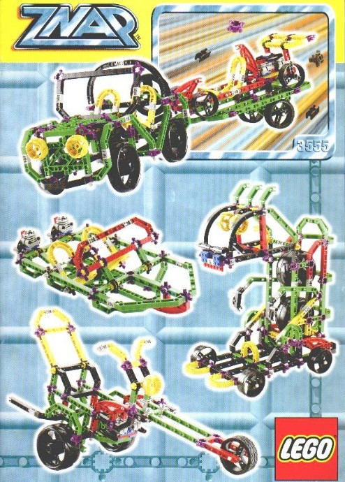 Bricker Construction Toy By LEGO 3555 Jeep