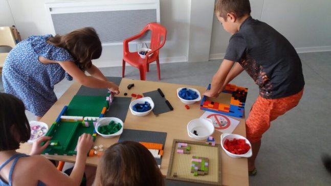 Atelier Lego par Brickevent