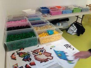 atelier pixel art Lego animaux