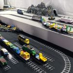 Chemin de fer et train en lego
