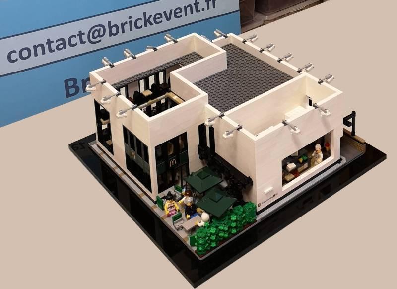 Maquette Lego Mc Donald