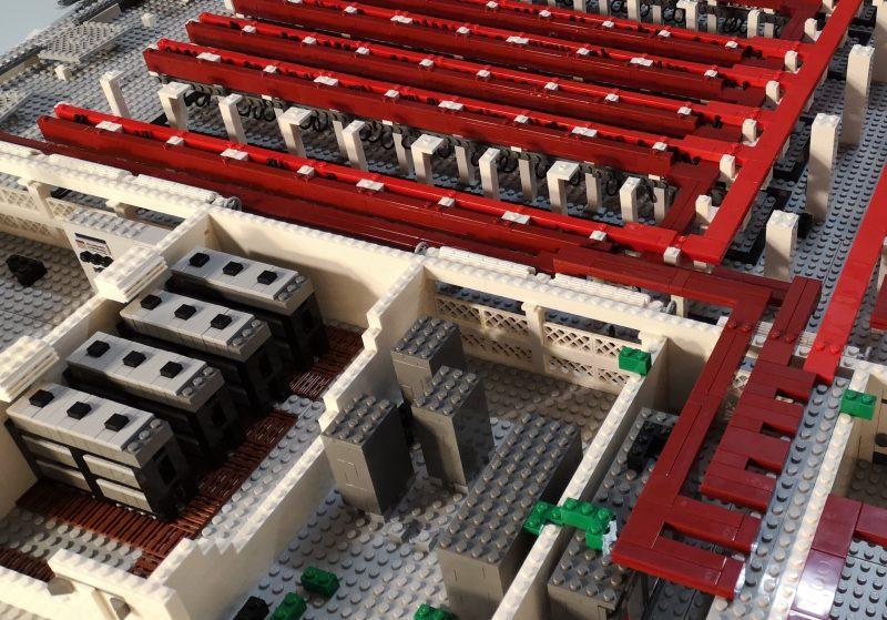maquette industrielle LEGO