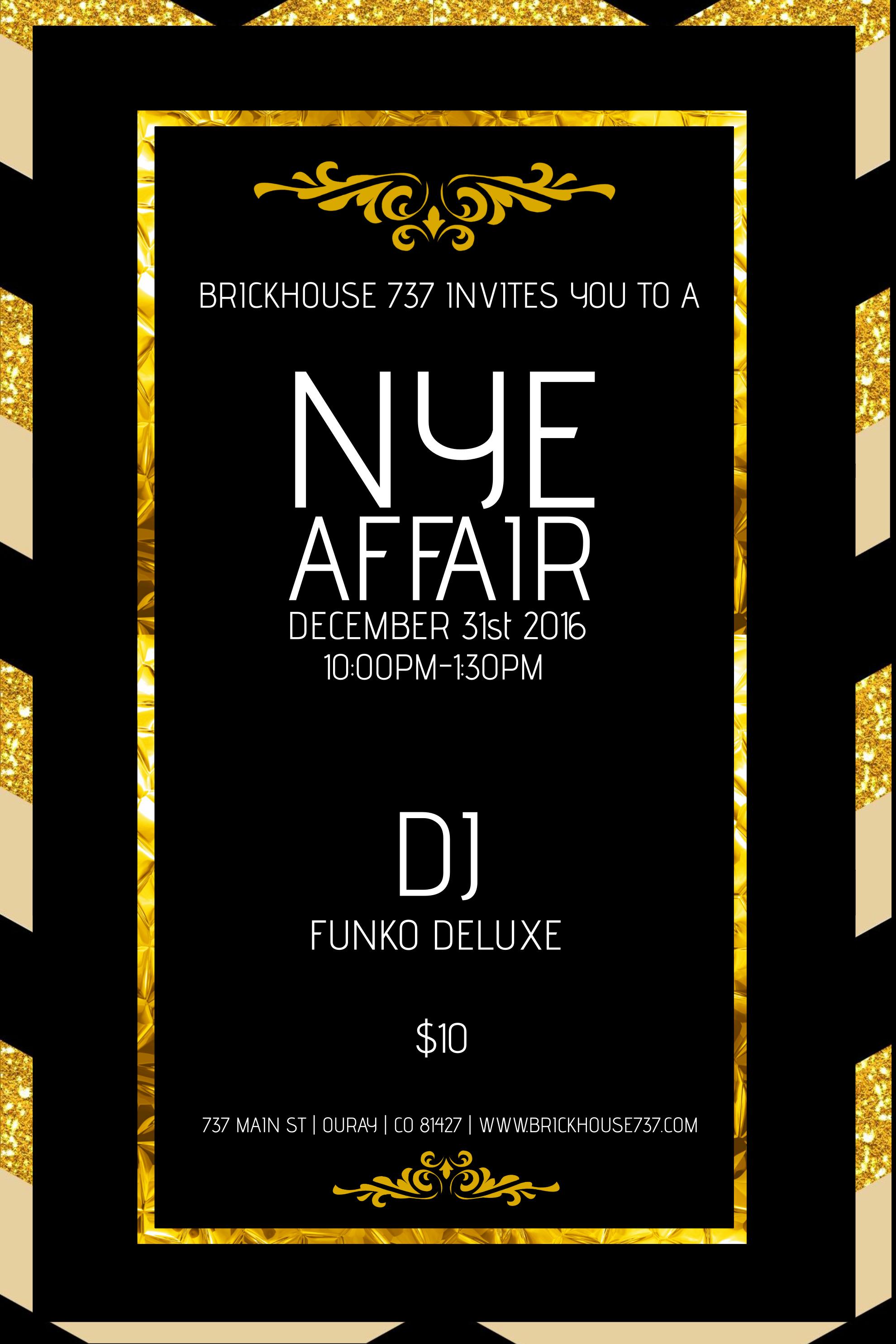 New Years Eve 2017 Brickhouse 737