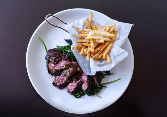 Steak and fries Brickhouse 737