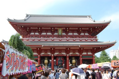 Mid gate of the temple.