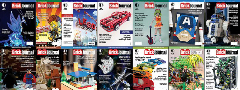 BrickJournal Back Issues On Sale August 15 – September 1, 2018
