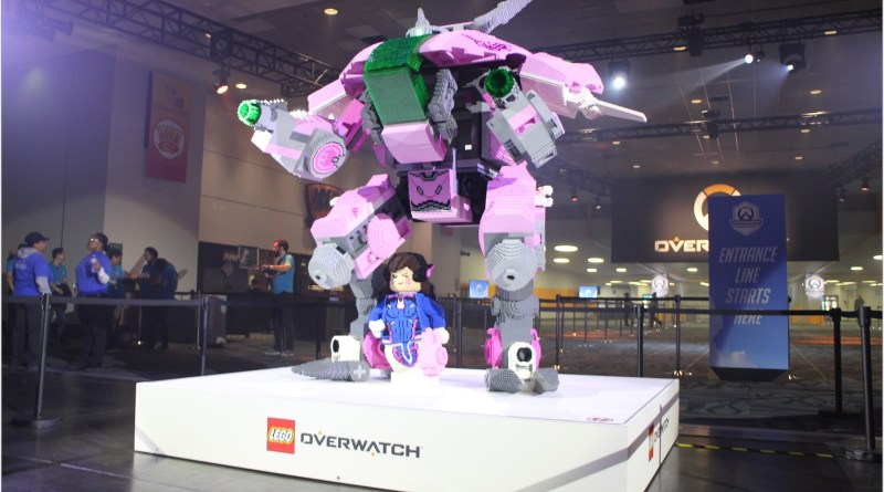 Overwatch's D.Va On Patrol at BlizzCon 2018!