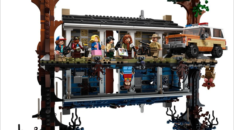 The LEGO Group Announces The ultimate LEGO® Stranger Things Model to Build and Collect!