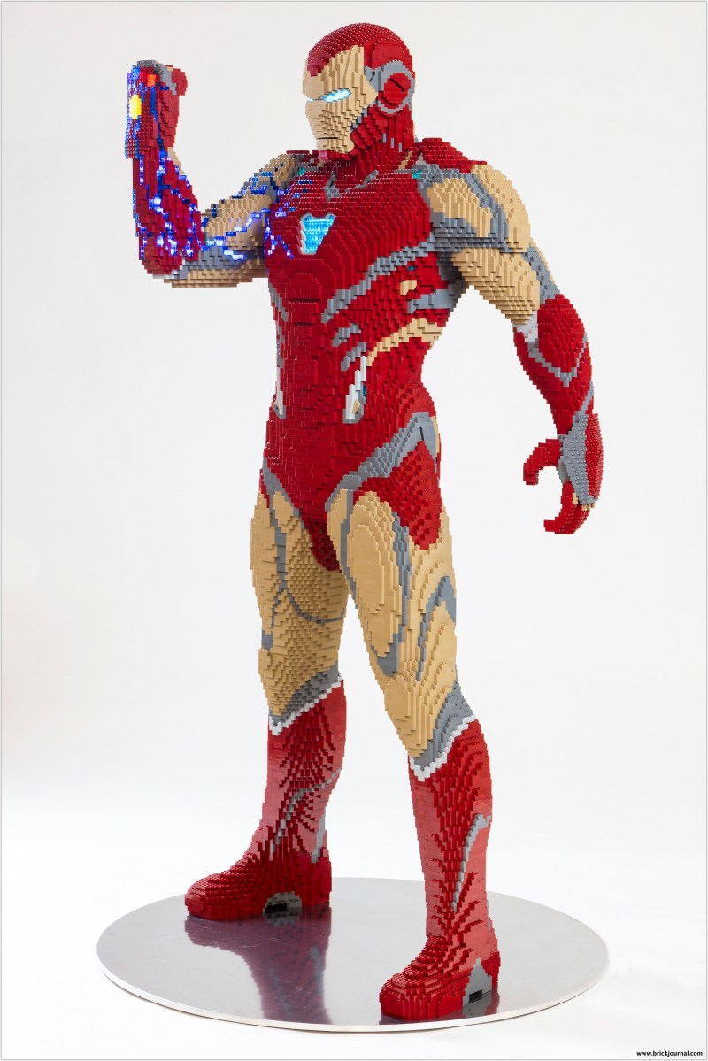 LEGO® Marvel Avengers: Endgame Iron Man Life-Size Model To