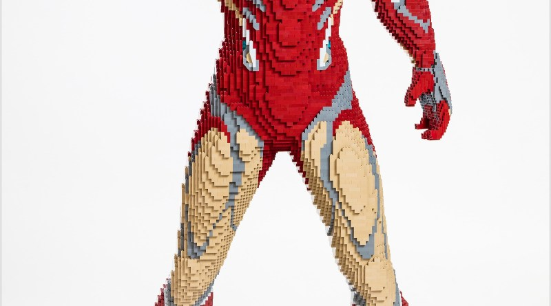 LEGO® Marvel Avengers: Endgame Iron Man Life-Size Model To Be Displayed at San Diego Comic-Con