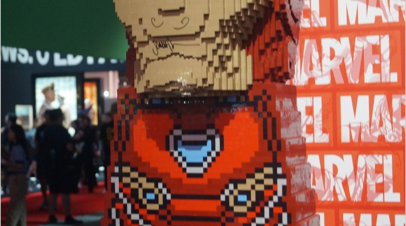LEGO Displays at the 2019 D23 Expo