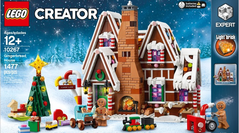 Gather the Family and Build the Wonderful Gingerbread House!