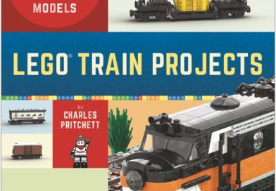 Book Review: LEGO Train Projects, by Charles Pritchett