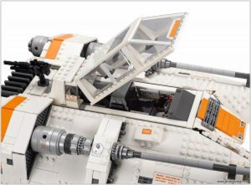 Cockpit open.