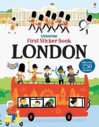 First Sticker Book London - James MacLaine