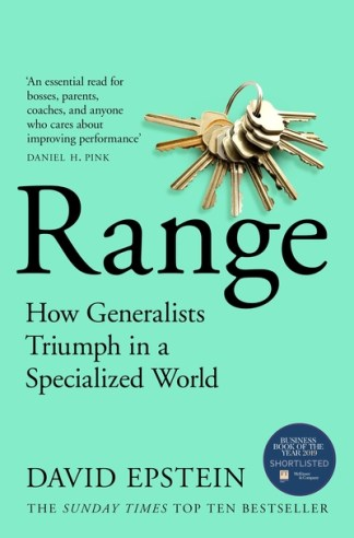 Range: The Key to Success, Performance and Education - David Epstein
